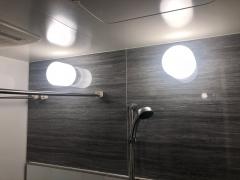 浴室の電球をダイソーのLEDにしてみた