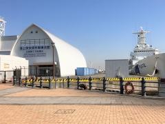 海上保安資料館横浜館北朝鮮工作船展示