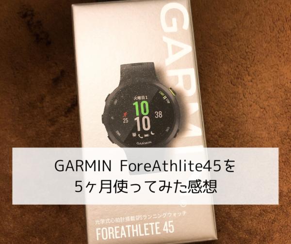 GARMIN 45 レビュー