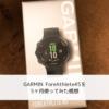 GARMIN ForeAthlete45を5ヶ月使ってみた感想